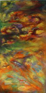 Textured Abstract Acrylic